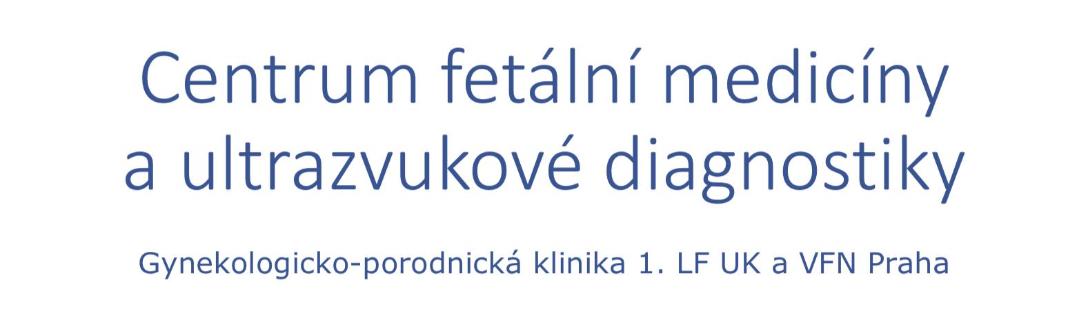 Centrum fetální medicíny a ultrazvukové diagnostiky