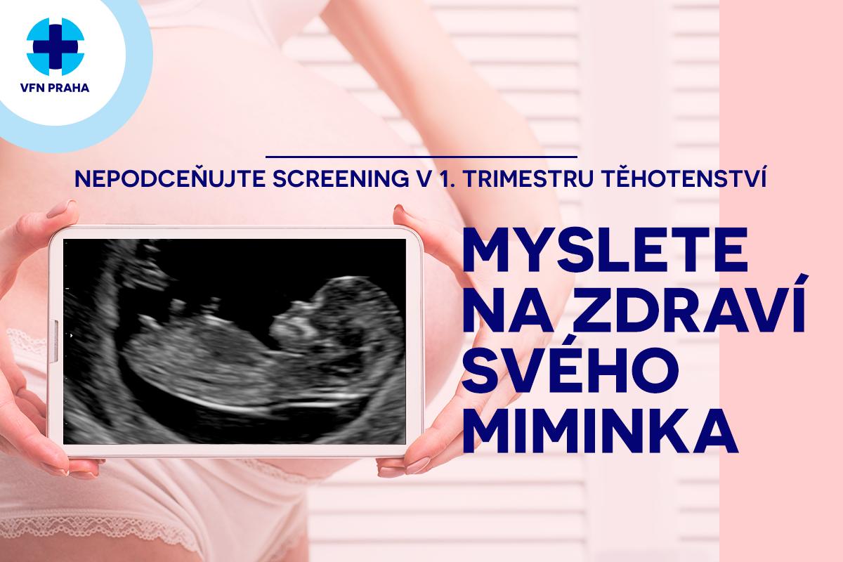 Screening v preeklampsie a komplikací v těhotenství